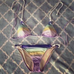 Ombré Rope Tie Bikini Set - Victoria's Secret 💕